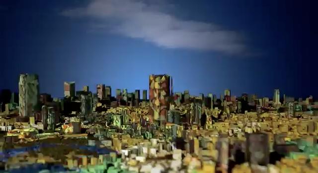 Tokyo City Symphony: Projection and Sound Performance