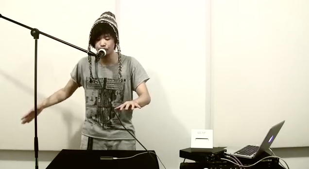 Beatboxing & Leap Motion
