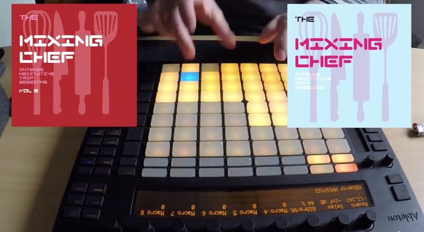 Chop Chop – The Mixing Chef Ableton Push Jam 64 Pad Mode